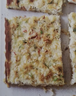 the Best Gluten-Free and Dairy Free Baking Recipes sample crab and dill tart