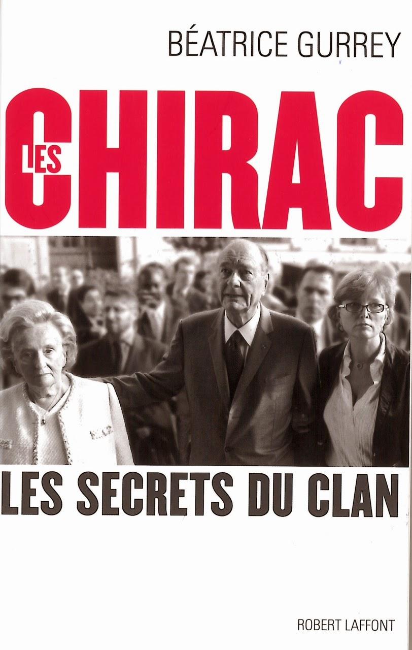 livre Les Chirac - les secrets du clan