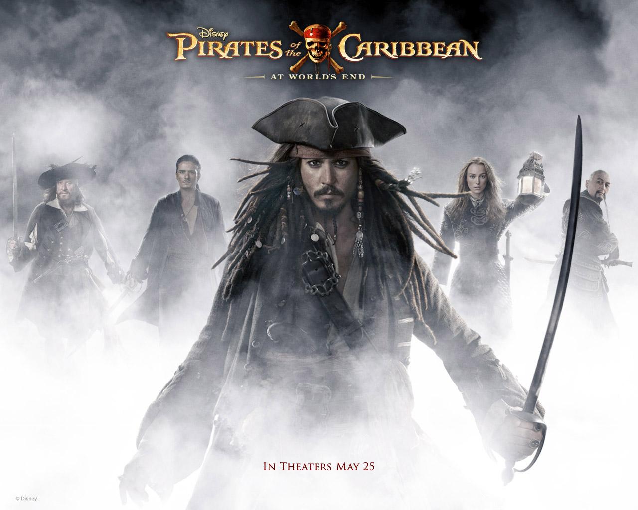 Amazing Wallpapers: Pirates Of Caribbean Wallpaper