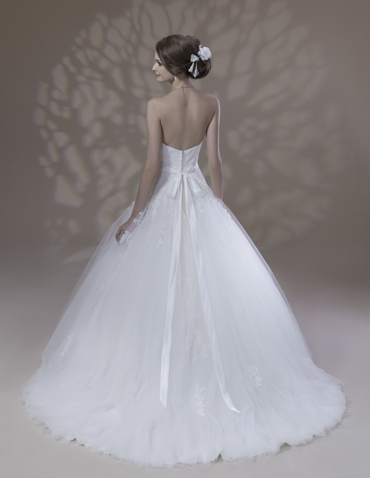 autumn winter bridal gowns