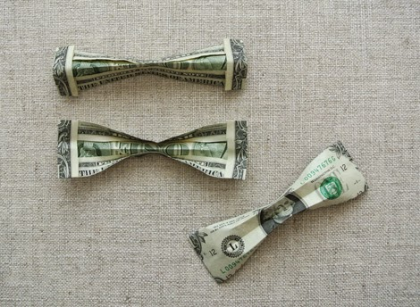 How To Make An Origami Bow Tie Out Of A Dollar Bill Moving Origami