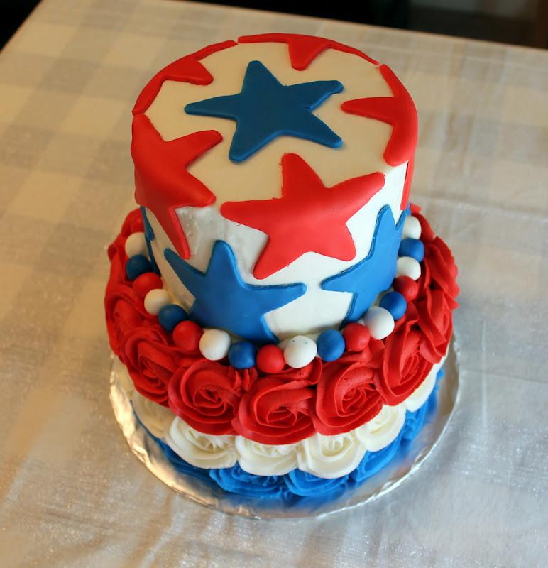 Lombardo Lagniappe Patriotic 4th Of July Cake