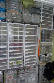 My Scrapbooking Room Closet Re-Organization :)