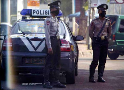Kode sandi dalam pembicaraan HT (Handy Talky) polisi