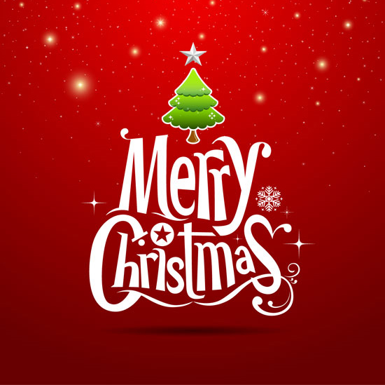 merry christmas cards design