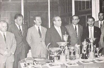 Entrega de premios del XXXV Campeonato Individual de España de Ajedrez, Llaranes-Avilés 1970