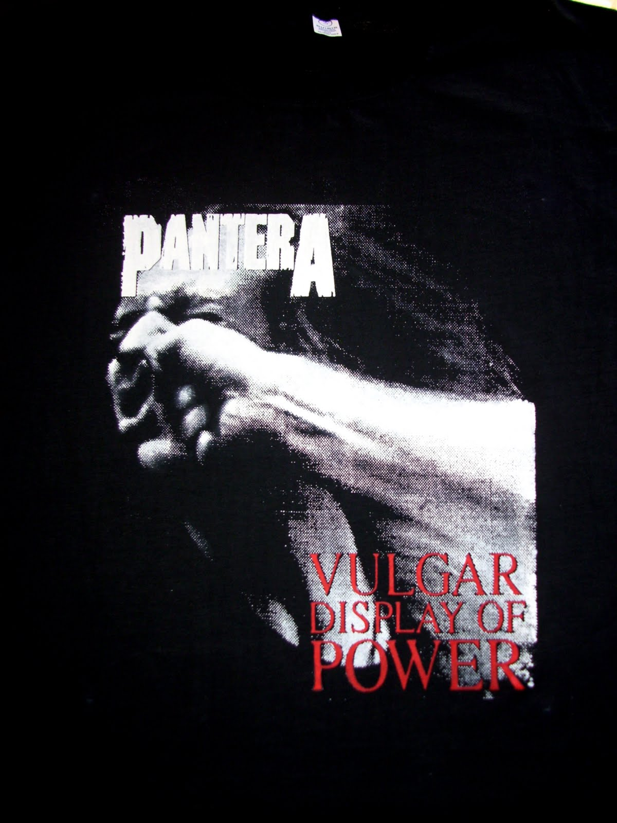 Remera Pantera - Vulgar Display Of Power  quot Frente quot Pantera Vulgar Display Of Power Ufc