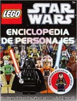 Libro Enciclopedia personajes LEGO Star Wars 16,15€