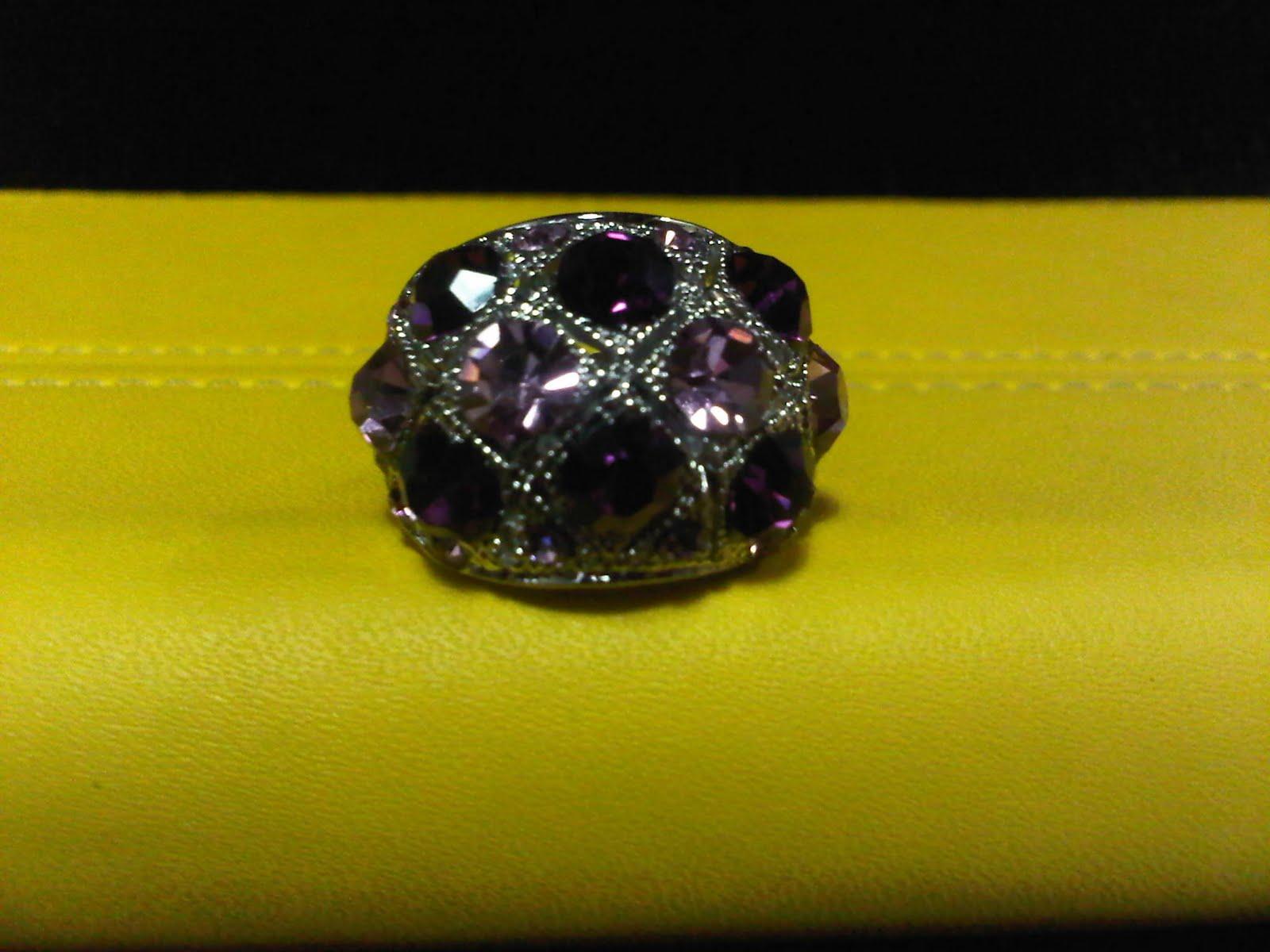 code rg06a warna ring titanium warna batu ungu size all size harga rp ...