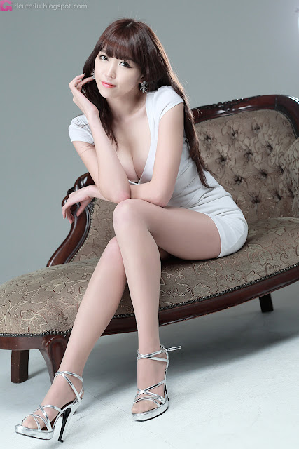 4 Lee Eun Hye in White-Very cute asian girl - girlcute4u.blogspot.com