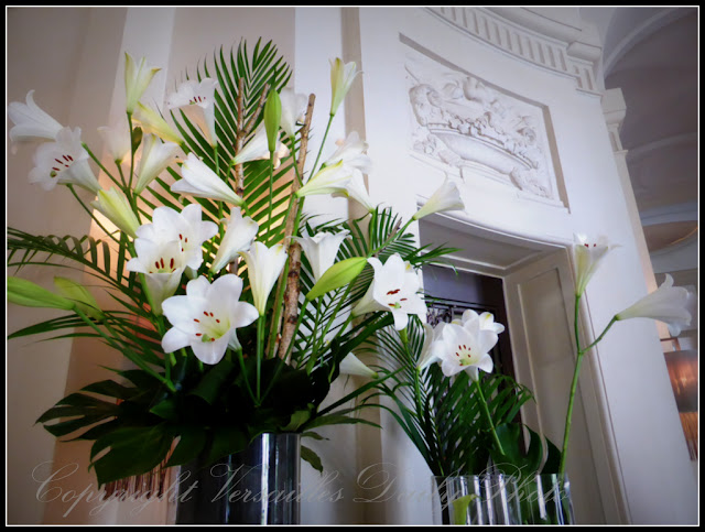 Lys lilies Trianon Palace Versailles