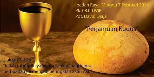 Ibadah Raya 7 Feb 2016 Jam 08.00
