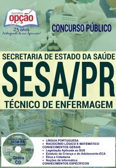 Apostila Concurso SESA PR 2016 (ATUALIZADA)