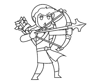 #2 Link Coloring Page