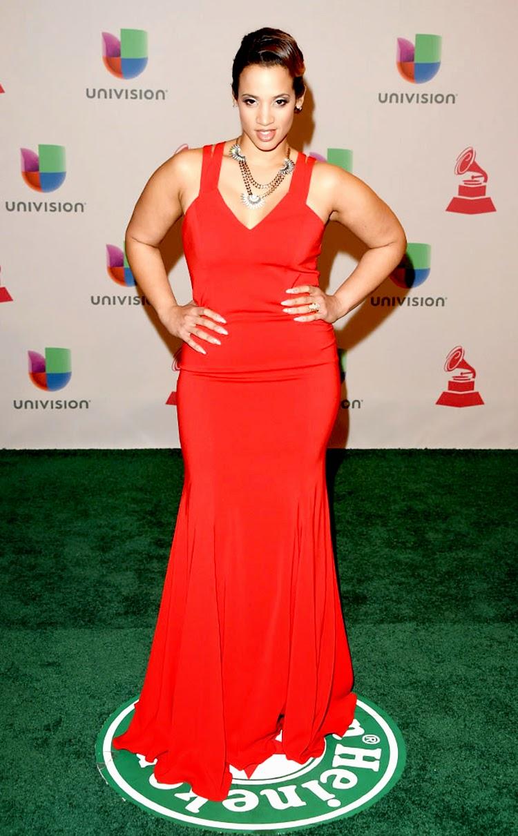 Dascha Polanco at 2014 Latin Grammy Awards Red Carpet Arrivals