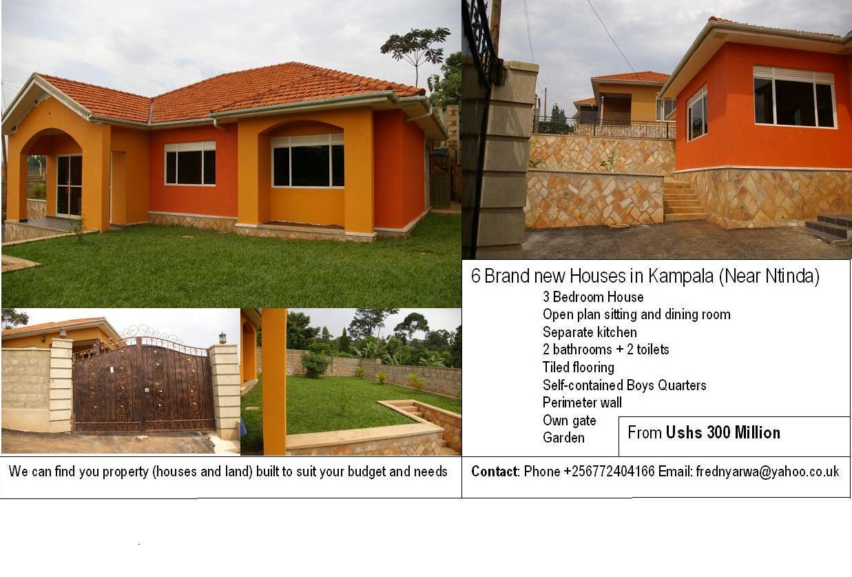 Single Floor Houses In Uganda – Modern House