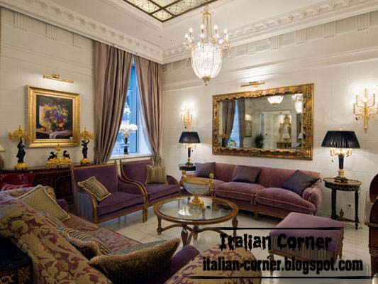 Classic living rooms with italian ideas and furniture for Classic room design