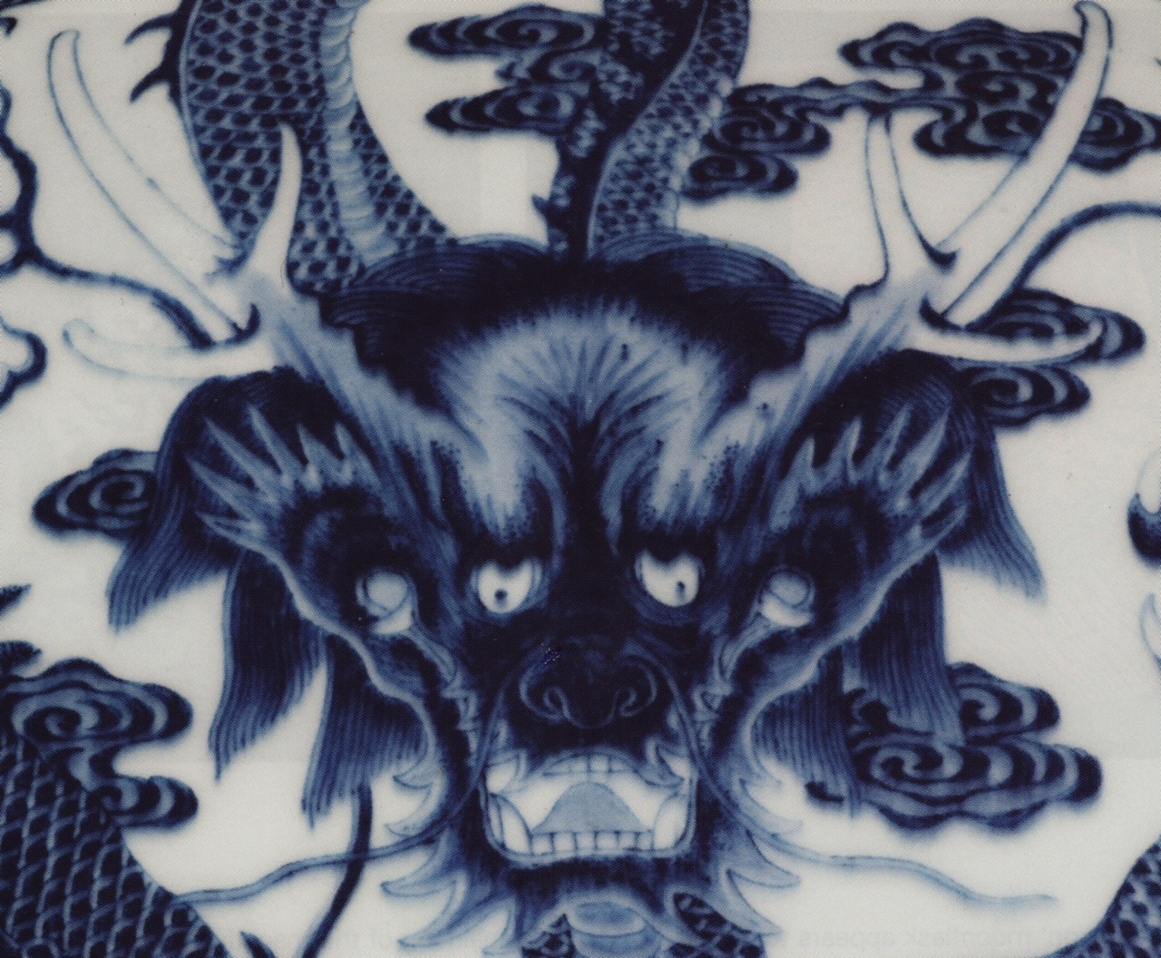 Eugene hn ceramic artist the meaning and significance of the nine resemblances of the dragon according to wang fu as captured on a rare blue and white dragon moonflask as cited in a sothebys catalogue 7 nov 2007 buycottarizona Choice Image