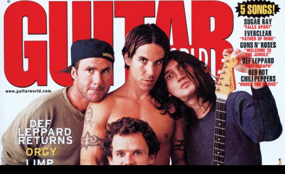 John Frusciante em 45º