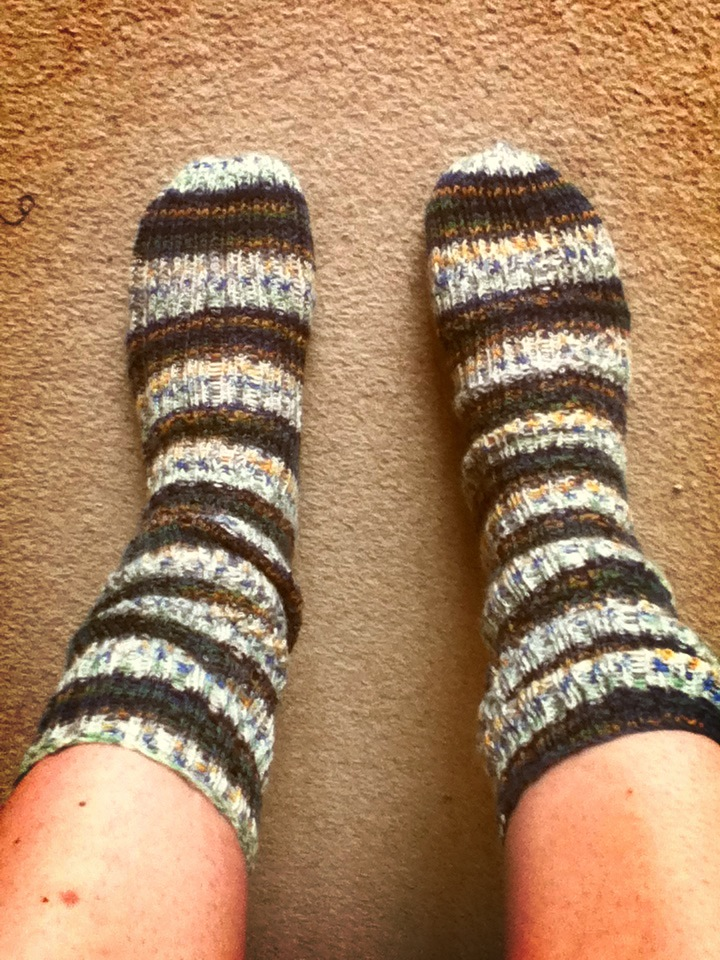 Knitting Brioche Stitch Socks 14 Easy Patterns For Tube Socks : The Knitter on Twitter.: The first pair of socks.