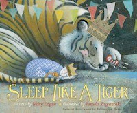 bookcover of SLEEP LIKE A TIGER by Mary Logue