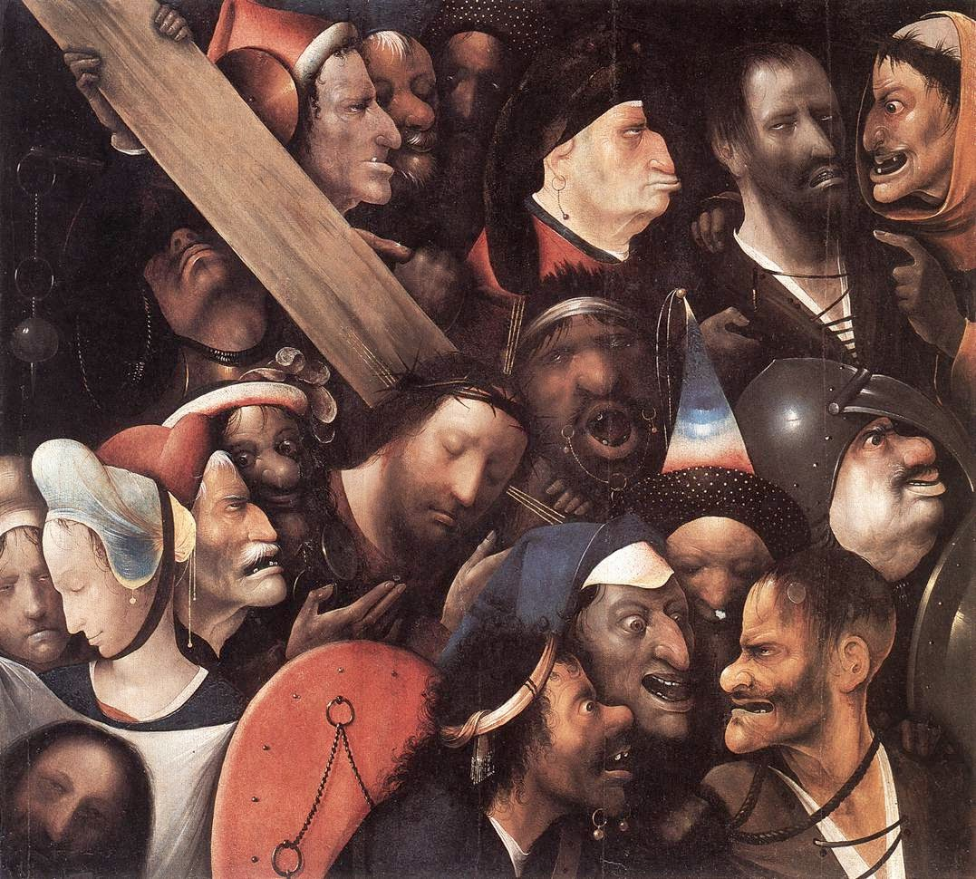 Bosch -- Christ Carrying the Cross