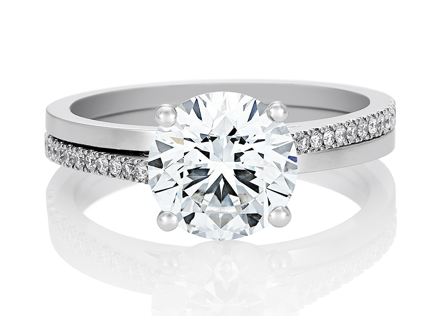 luxury society de beers the promise solitaire rings