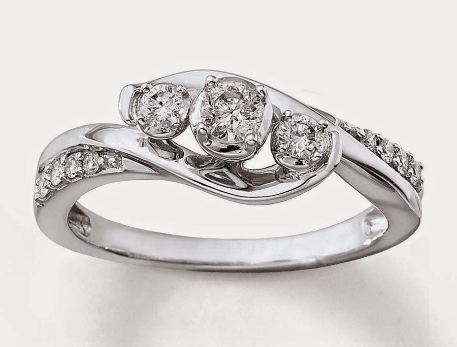 3 Diamond Wedding Rings Settings Unique Shaped pictures hd