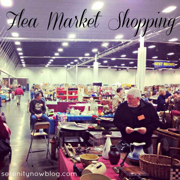 Flea Market Shopping (Treasure Hunt!), via Serenity Now