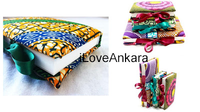 Lovely notebooks - African Print - iloveankara.blogspot.co.uk