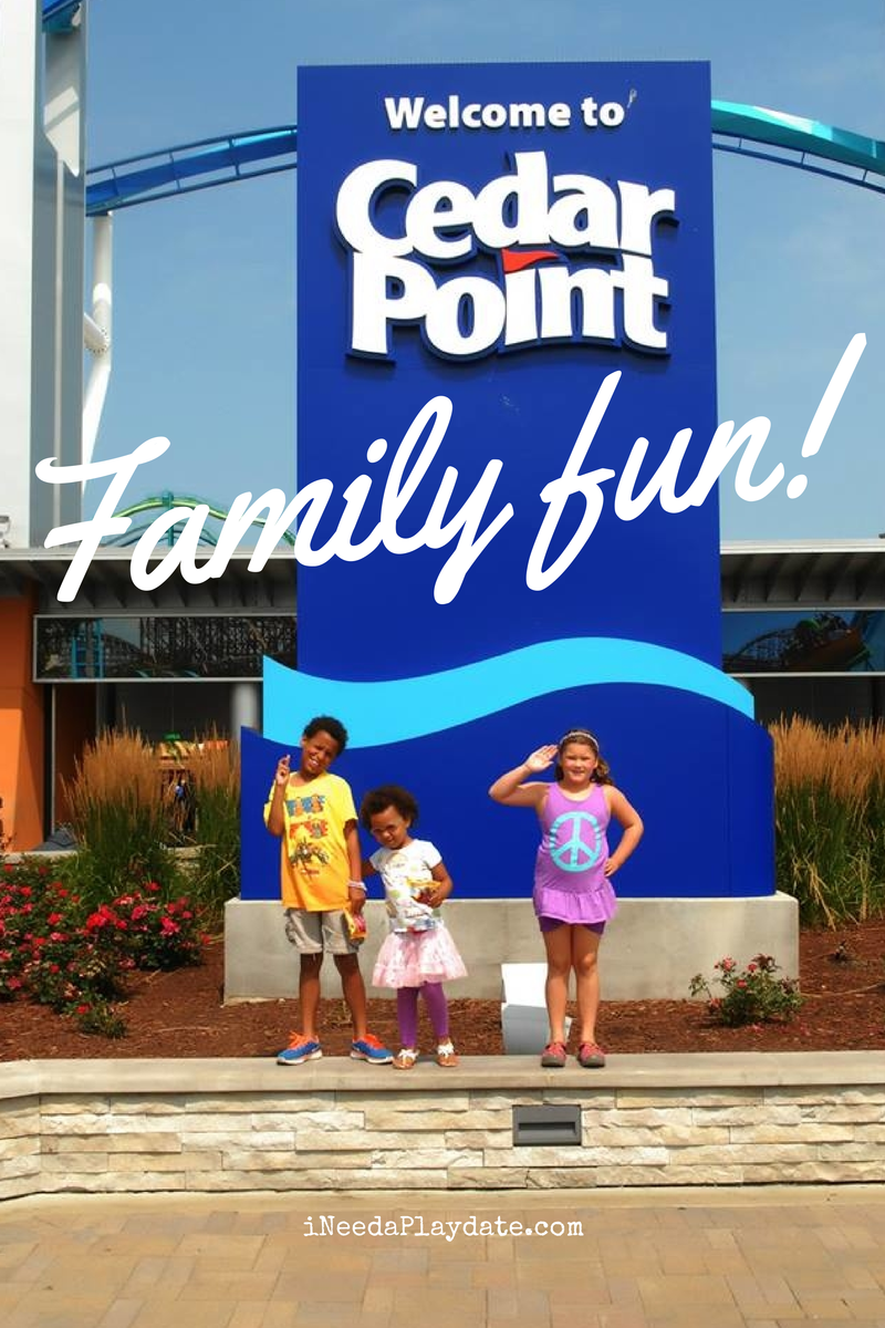 Cedar Point is Cool Family Fun #iheartcp | @MryJhnsn