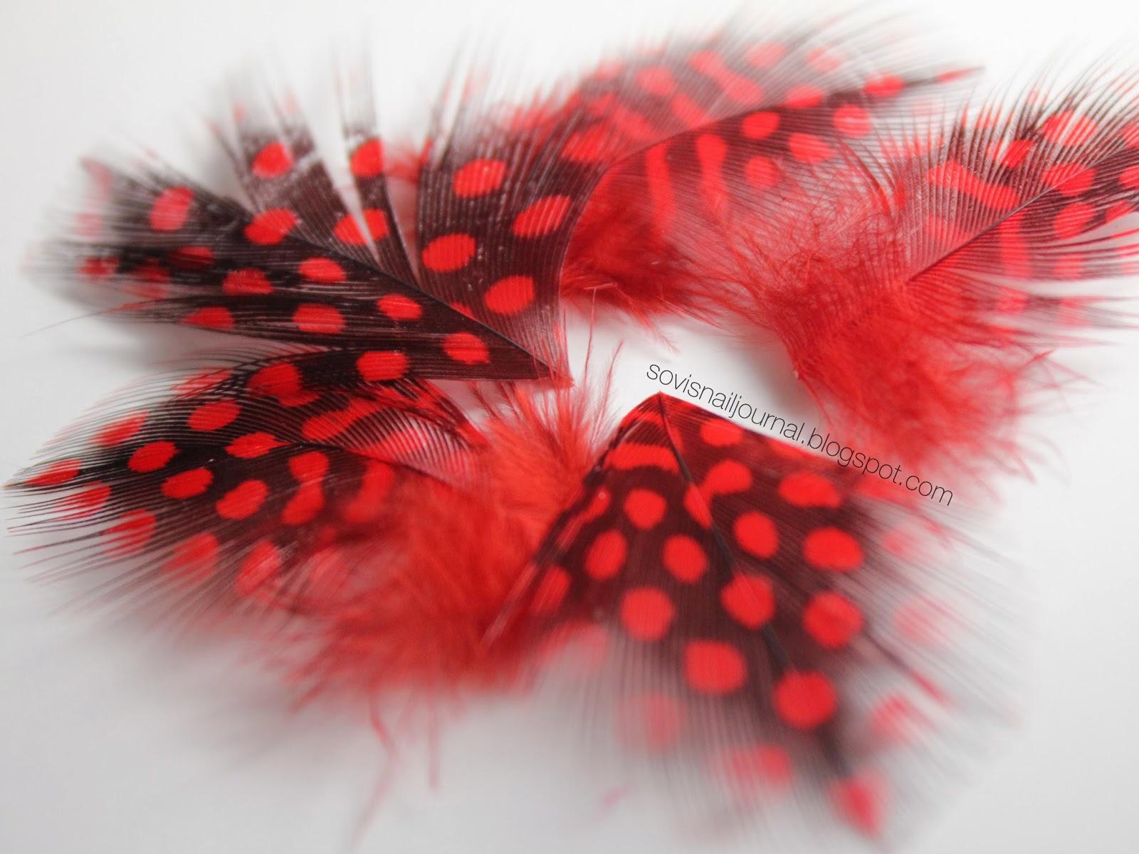 Sovis Nail Journal Feather Nail Art Tutorial