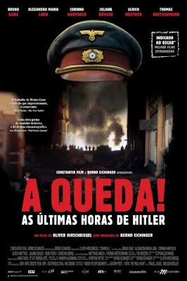 Filme Poster A Queda! As Últimas Horas de Hitler DVDRip XviD & RMVB Dublado