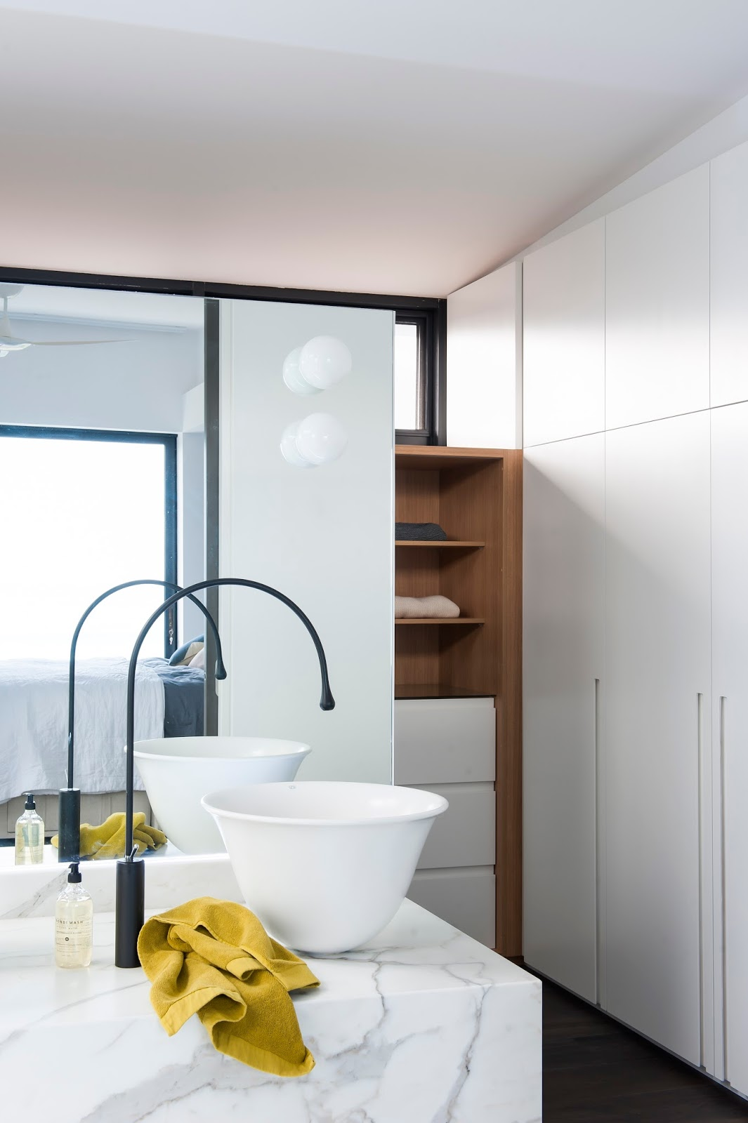 Bathroom Designer Melbourne minosa: melbourne bathroom design - a famous house, view & client