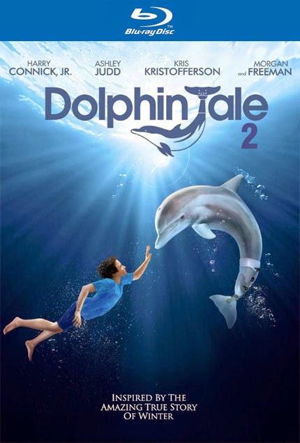 Yunus Masalı 2 - Dolphin Tale 2 - bluray poster