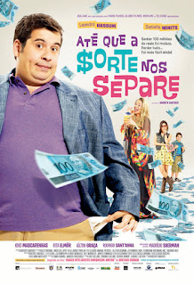 """Poster do filme """"Até Que a Sorte nos Separe"""""""