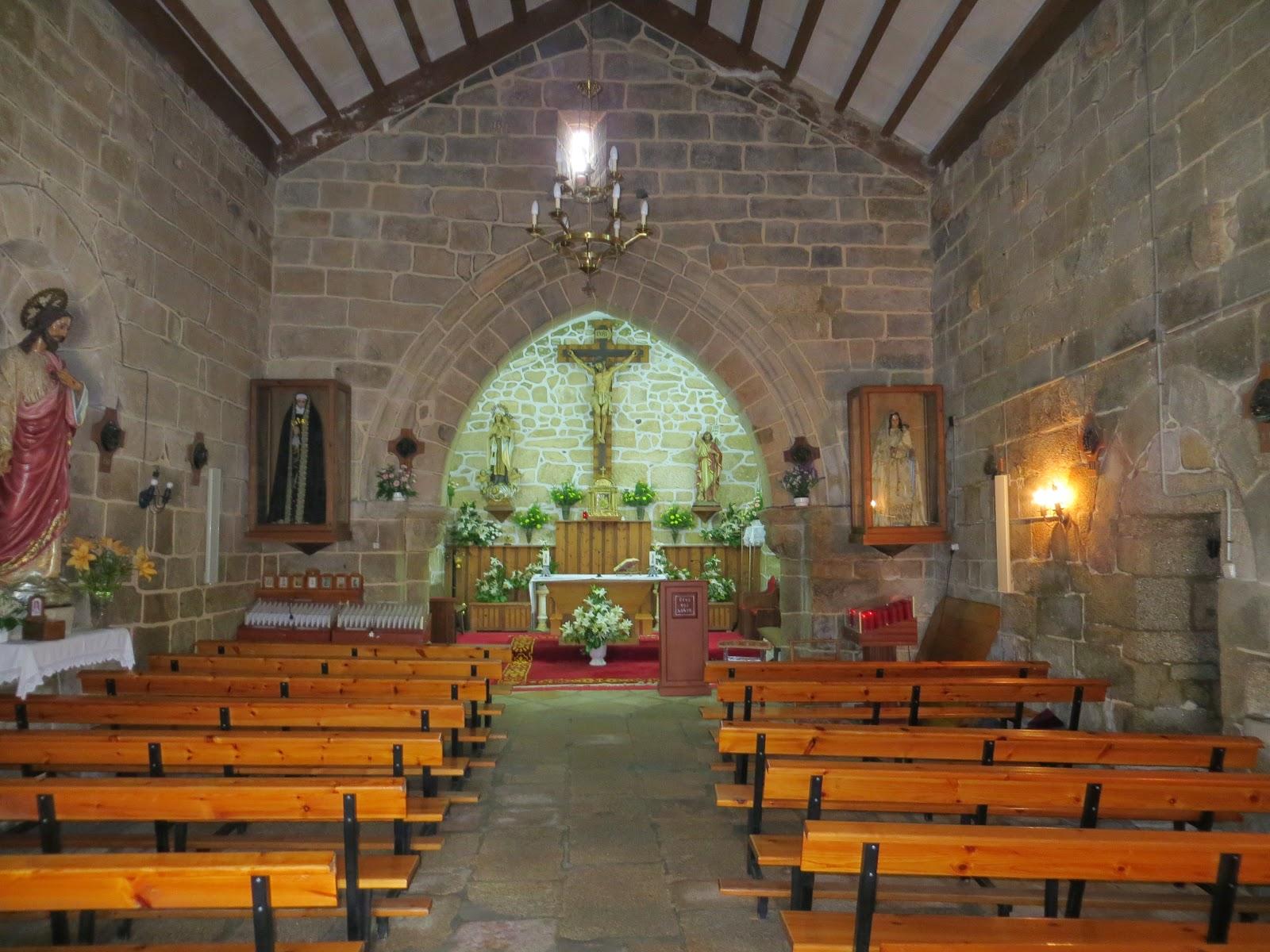 Iglesia de San Juan de Tirán, Moaña