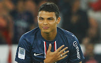 Central defender - Thiago Silva
