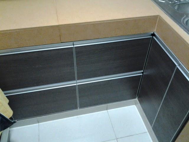 E y g proyectos integrales muebles en melamina aluminio y vidrio cocinas con tapacanto en - Muebles de cocina de aluminio ...