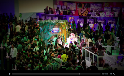 E3 2014 Nintendo booth Splatoon photo promotional