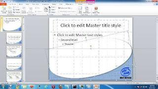 Master Slide PowerPoint