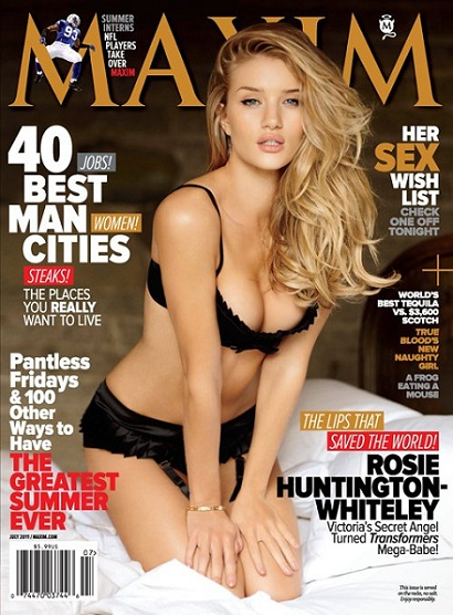 rosie huntington whiteley maxim july 2011. Rosie Huntington Whiteley