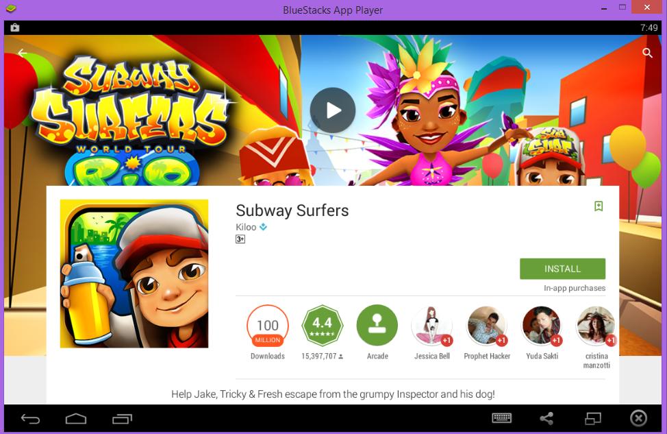 download subway surfers pc