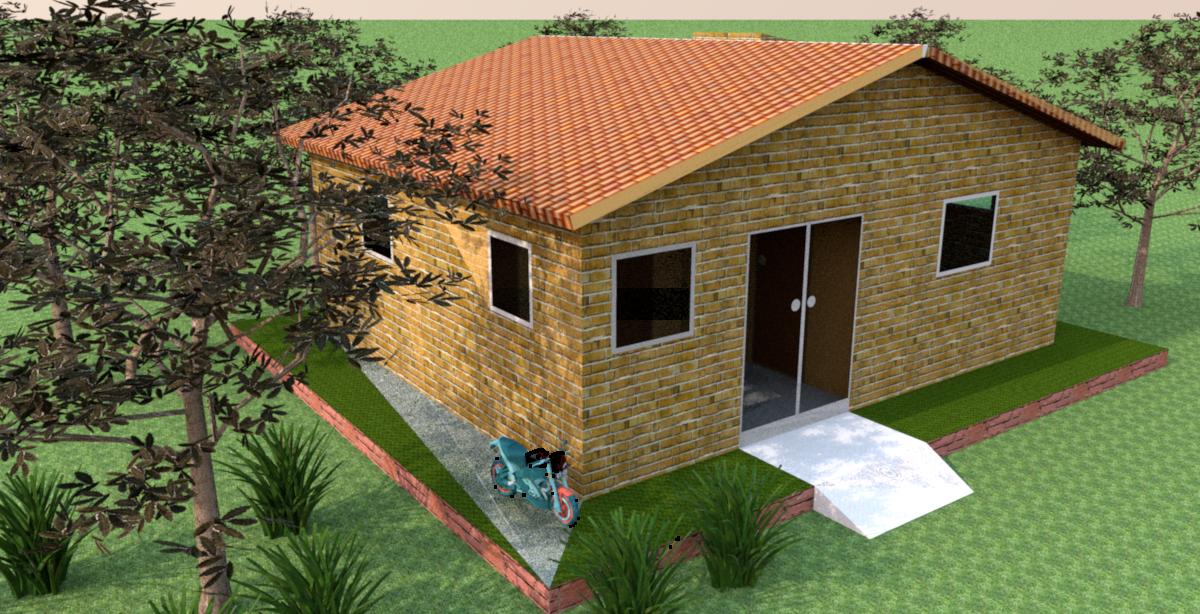 Arquitetura 3d alguns dos meus projetos - Casas de campo baratas ...