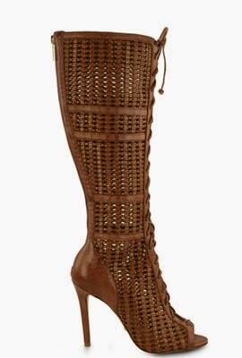 Schutz coleção inverno 2014 sandálias gladiadoras com amarrações