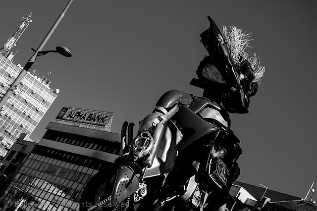 Belgrado scultura robot