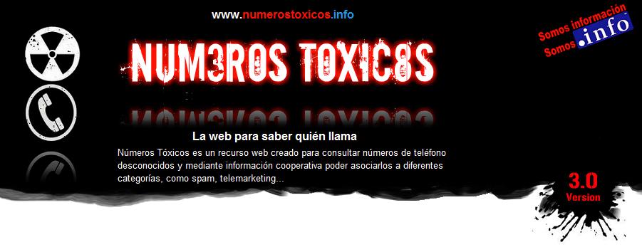 Números Tóxicos | Web para saber quién llama