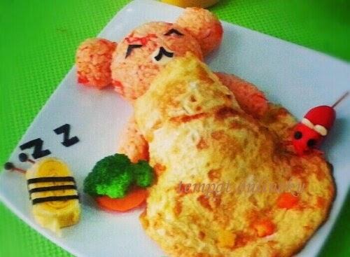 resep nasi goreng selimut telur