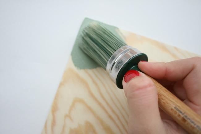 Tutorial chalk paint navidad