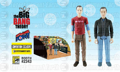 "San Diego Comic-Con 2015 Exclusive The Big Bang Theory ""Comic Book Store"" Sheldon Cooper & Stuart Bloom Action Figure Box Set by Bif Bang Pow!"